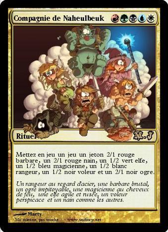 Naheulbeuk en Cartes Magic 5640